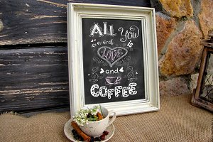 Coffee original lettering