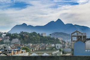 Urban Scene Rio de Janeiro Brazil