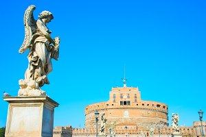 St. Angelo castle. Rome, Italy