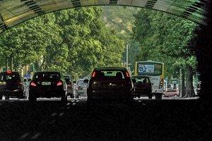Car Tunnel Rio de Janeiro Brazil