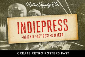 IndiePress - Quick Poster Maker