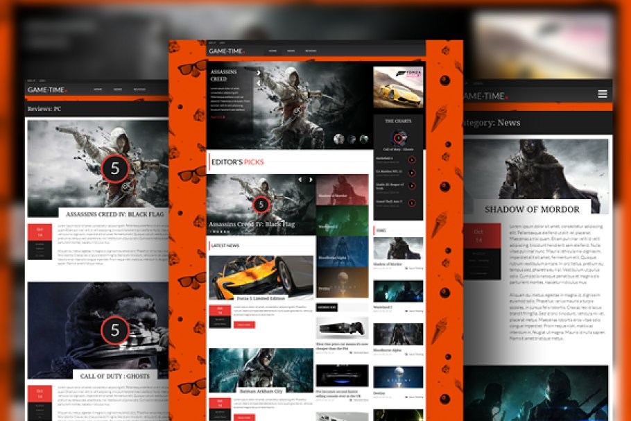 9 Best Game Website Themes & Templates