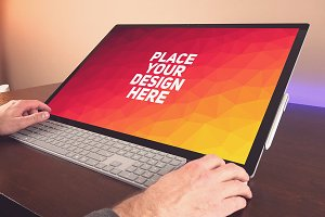 Microsoft Surface Studio Mock-up#1
