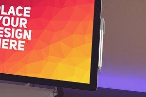 Microsoft Surface Studio Mock-up#2