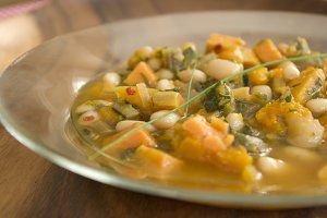 Autumn Soup - Vegetable White Bean 1
