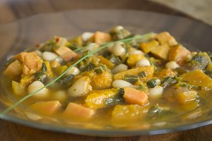 Autumn Soup - Vegetable White Bean 2