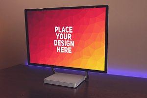 Microsoft Surface Studio Mock-up#3