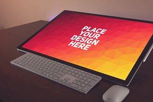 Microsoft Surface Studio Mock-up#7