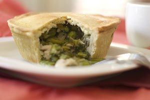 Organic Chicken Asparagus Pot Pie 2