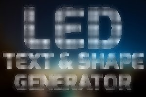 Led Text & Shape Creator