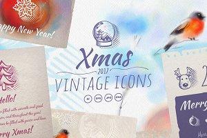 Vintage Xmas Icons