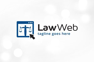 Law Web Logo Template