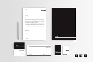 LINEA Stationery Set Templates