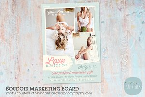 IL001 Boudoir Marketing Board