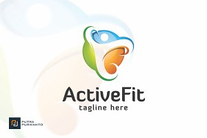 ActiveFit / People - Logo Template
