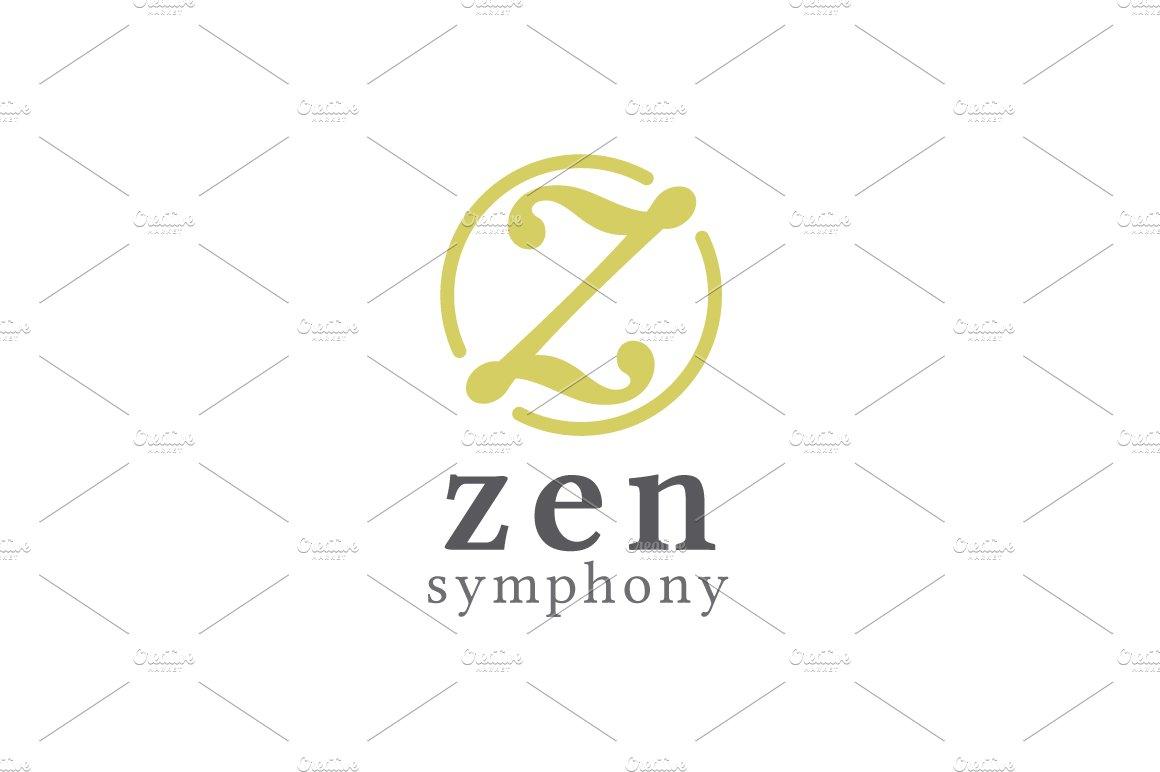 Zen Symphony - Letter Z Logo