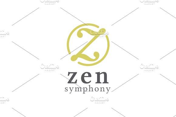 Zen Symphony Letter Z Logo