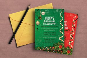 Elegant Christmas Invitation
