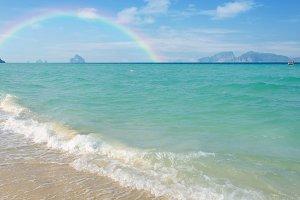 Tropical beach Andaman Sea