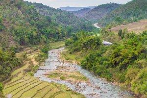 Beautiful landscape in Myanmar.