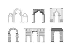 Vector arch classical construction