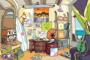 Surfer's Room