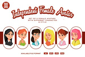 Independent Female Avatar