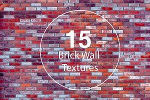 15 Brick Wall Textures