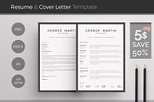 [50% off] Word Resume & Cover Letter