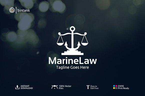 Marine Law Logo