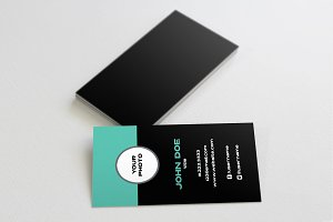 The Profile - Business Card Template