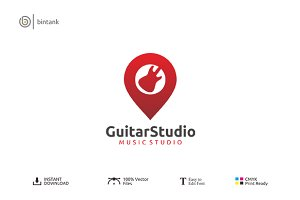 Guitar Studio Logo