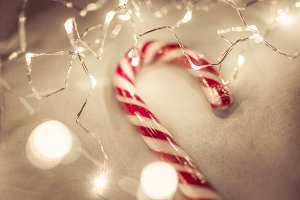 Christmas Background - Candy