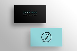 The LBR - Business Card Template