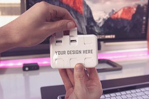 USB Hub Mock-up#3