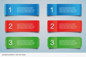 Banner Elements Vol.3