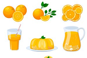 Organic juice healthy food vector