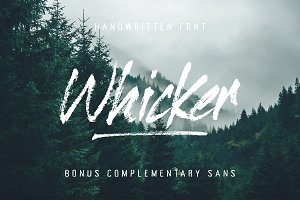 Whicker Font Duo