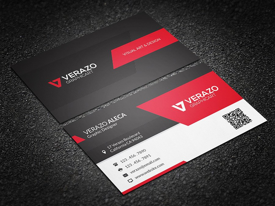 Modern stylish business card business card templates creative modern stylish business card business card templates creative market reheart Images