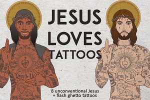 Jesus Loves Tattoos