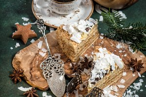 Honey cake Christmas decoration