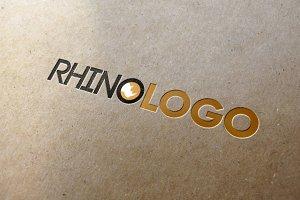 Brown Rhino Logo template