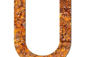 Font Rusty steel
