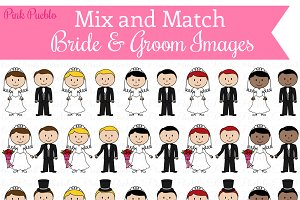 Mix & Match Bride & Groom Images
