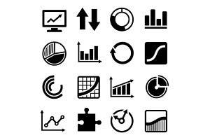 Business Diagram Icons Set