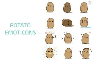 Potato Emoticons/Emoji