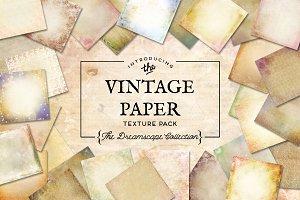 Vintage Paper Textures Dreamscape