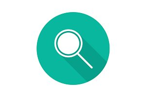 Search icon. Vector