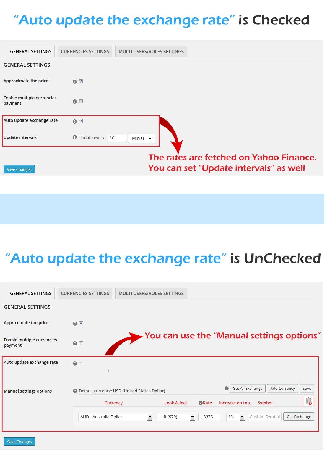 Scd smart currency detector wordpress plugins creative market biocorpaavc Gallery