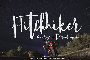 Hitchhiker Font